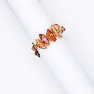 Iceberg Amber Quartz Bracelet